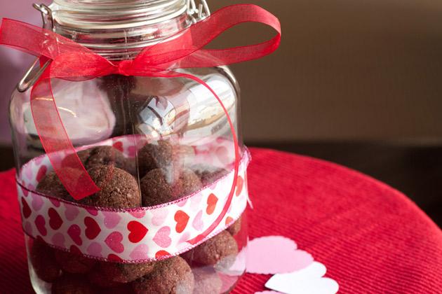Chocolate truffle cookies 2