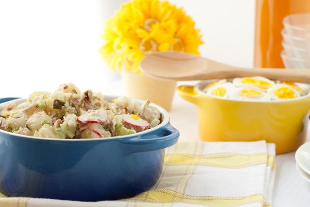Dad's Famous Potato Salad | Healthful Pursuit