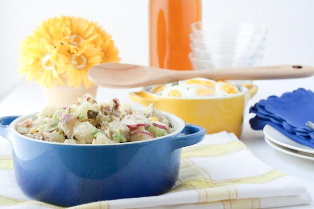 potato salad dad s potato salad tzatziki potato salad baby red potato ...