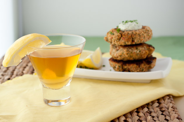 Salmon Cakes with Fresh Tartar Sauce | Healthful Pursuit