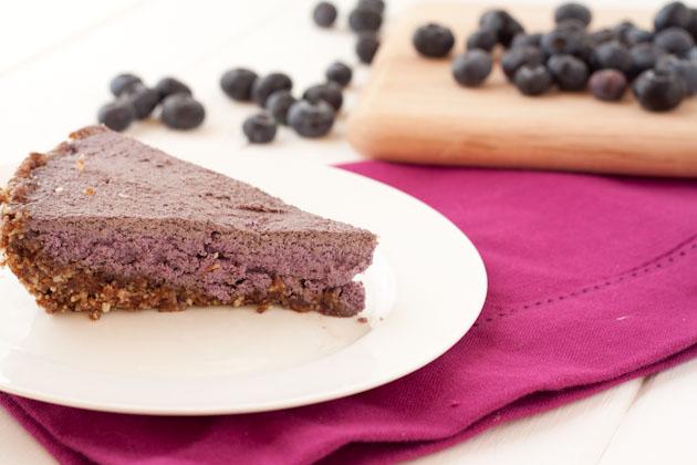 No bake Blueberry Cream Pie | Healthful Pursuit