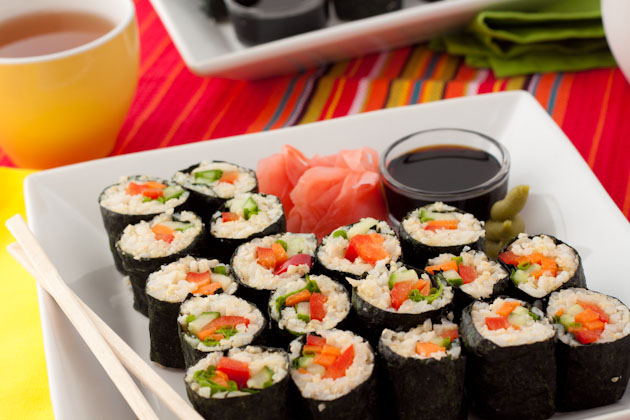 How to Make California Rolls Sushi