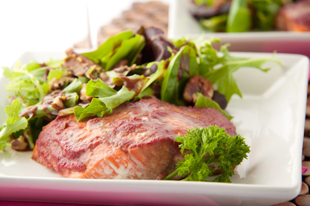 ... grilled salmon with peach glazed salmon with soy ginger glazed salmon
