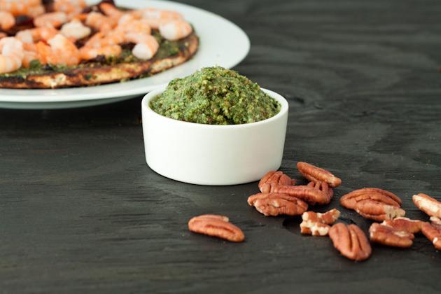 Thai Basil Pecan Pesto | Healthful Pursuit