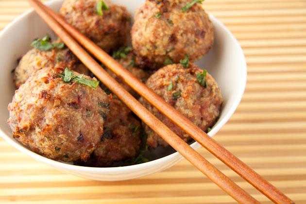 Cranberry Turkey Meatballs | Healthful Pursuit