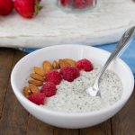 "Vanilla keto overnight ""oats"" #keto #lowcarb #highfat #vegan #paleo"