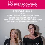 Signs You're on a Crash Diet, Why You Want Off, and How to Do It#nosguarcoatingpodcast #bodypos #bodyimage #selfcare #selflove #healthfulpursuit