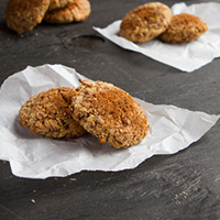 Quinoa Apple Pie Breakfast Cookies