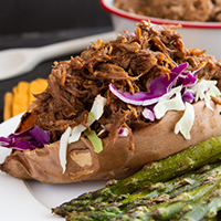 6-Ingredient Root Beer Slow Cooker Pulled Pork