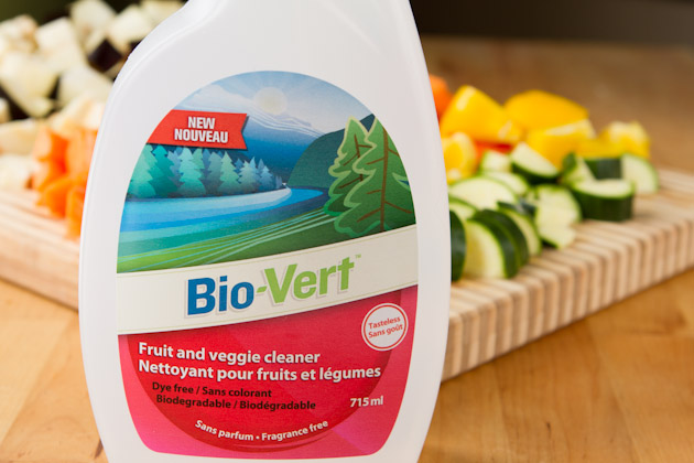 Wash Your Fruits & Veggies + Bio-Vert Giveaway