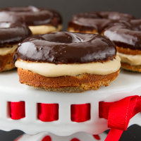 Boston Cream Donuts (Gluten-free & Paleo)