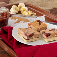 Dessert Freedom: Frosty Jam Butter Squares