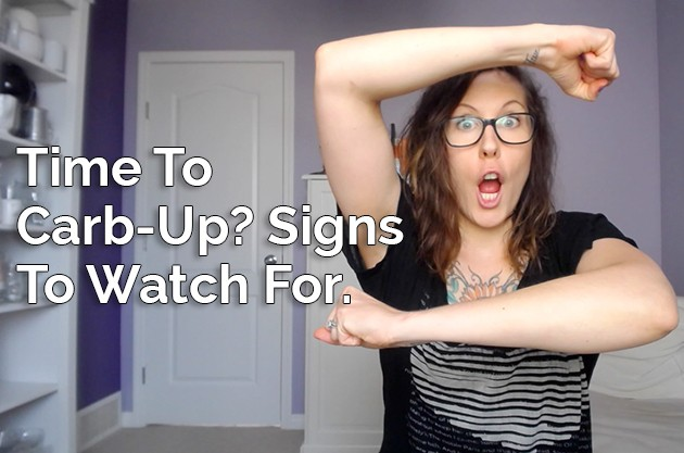 Time to Carb-Up? Signs To Watch For #video #keto #lowcarb #paleo