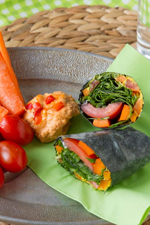Cheese and Veggie Wrap (51)-2