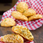 "No Dairy! ""Cheddar"" Drop Biscuits #lowcarb #keto #grainfree #dairyfree"