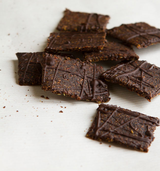 Grain-free Chocolate Dessert Crackers