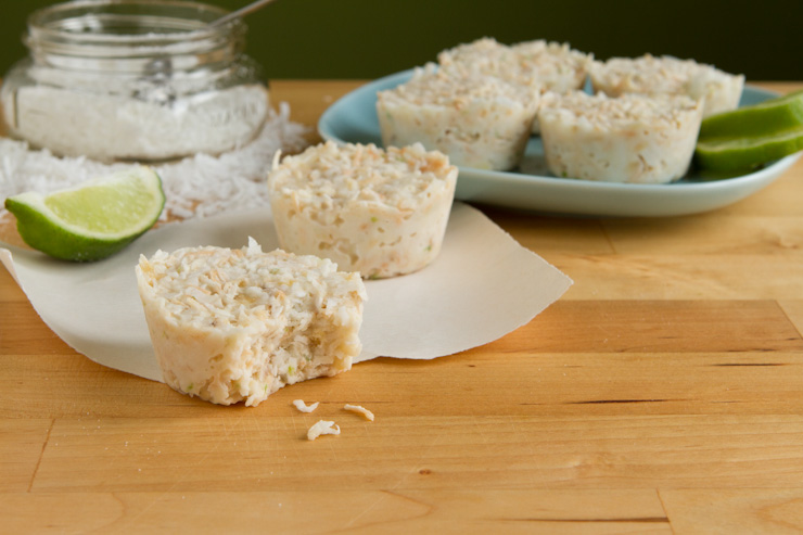 Coconut Lime Frosty Cups