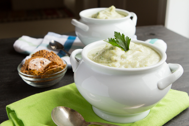 "Use it just as you would ""regular"" cream of broccoli soup."