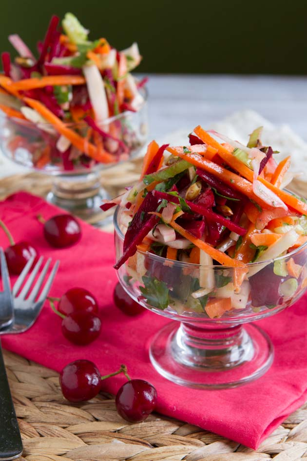 Deluxe Cherry and Fennel Salad (20)