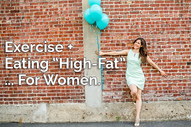 Exercise and Eating High-Fat... For Women! #lowcarb #keto #paleo #hflc