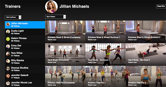 FitFusion Jillian Michaels