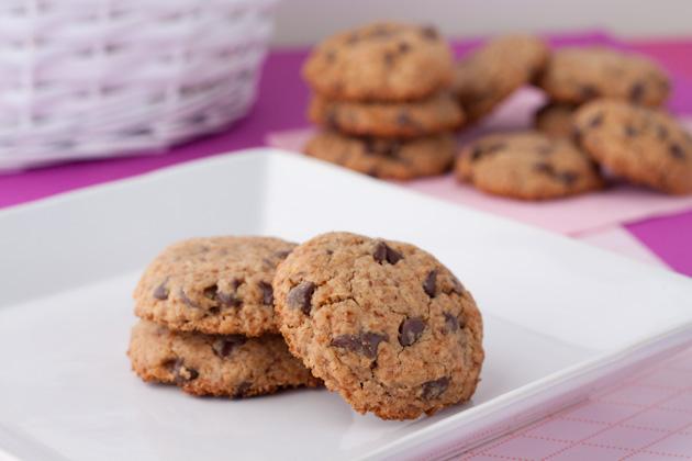 Gluten-free Vegan Chewy Chocolate Chip Cookies (4)