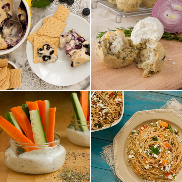 Goat Cheese Recipes and Dairy-free Substitutions