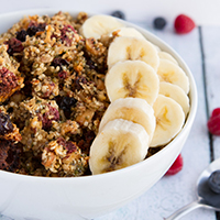 Thumbnail image for Grain-free Berry Granola (Paleo & Vegan)