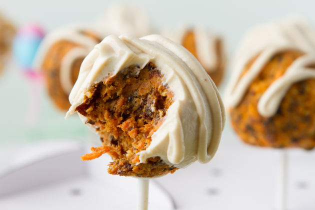 Carrot Cake Pops Hazelnut Truffles Healthful Pursuit