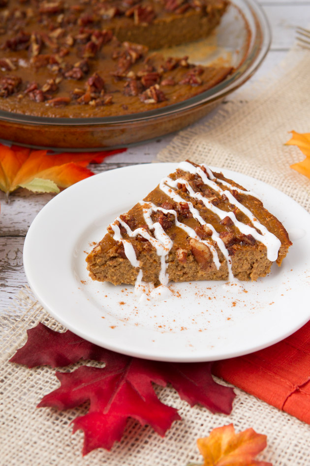 http://www.healthfulpursuit.com/2013/11/high-protein-crustless-paleo-pumpkin-pie-gluten-free/