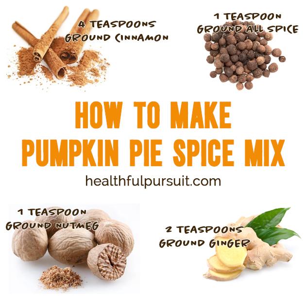 How to make pumpkin pie spice mix