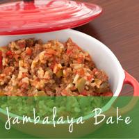 Jambalaya-Bake