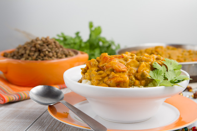 Kabocha Squash Lentil Curry (53)