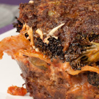 Jaw Dropping Lasagna Stuffed Meatloaf