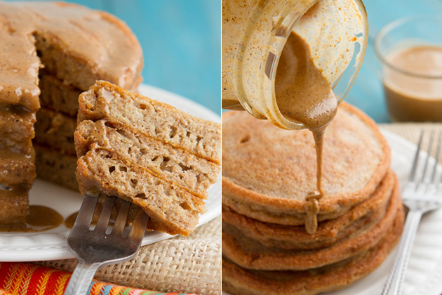 Crazy Good Low-carb Pancakes (made with pork rinds!) - no sugar, grains, dairy or flour