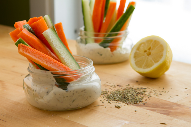 Mediterranean Veggie Dip (5)