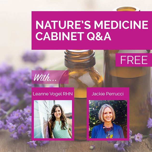 Audio: Nature's Medicine Cabinet Q&A