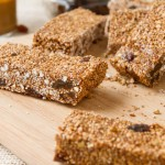 No bake Cinnamon Raisin Granola Bars (8)