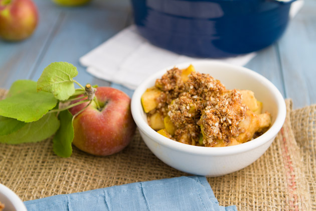 Oat-free Nut-free Apple Crisp (97)