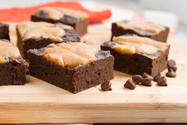 Oil-free Carob Swirl Brownies (3)