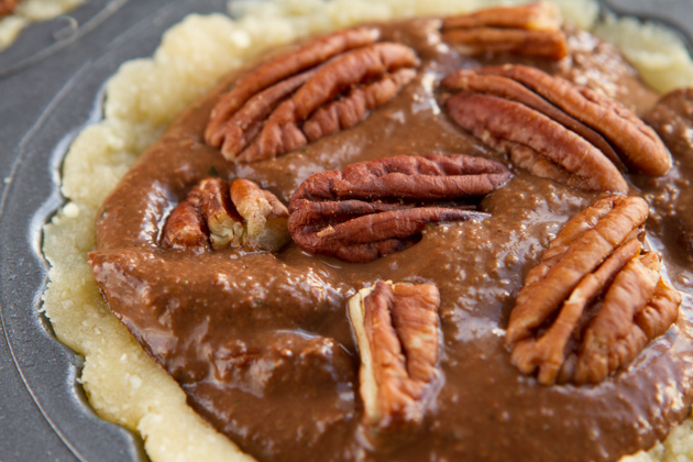 No Sugar! Paleo Chocolate Pecan Pie with ZUCCHINI #lowcarb #dairyfree #grainfree #keto #paleo