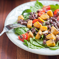 Thumbnail image for Plantain Bean Salad:: Vibrant Life Cleanse Approved