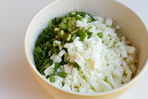 Potato Salad… That Isn't #paleo #lowcarb #keto #vegan #hflc #lchf #eggfree