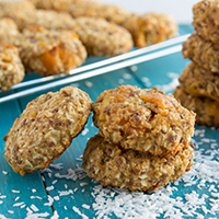 Thumbnail image for Quinoa Coconut Mango Breakfast Cookies