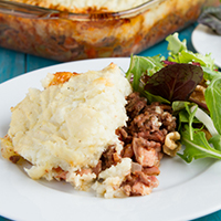 Bacon Shepherd's Pie (Gluten-free & Paleo)