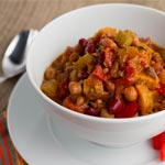 Smoky Chipotle Veggie Chili