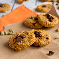 Quinoa Sweet Potato POW! Breakfast Cookies