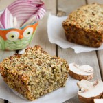 Low Carb Vegan Seed Loaf #lowcarb #keto #vegan
