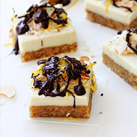 White Chocolate Squares:: Vibrant Life Cleanse Approved