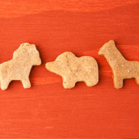 Vegan Banana Bread Animal Crackers